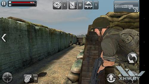 Игра Frontline Commando: Normandy на Huawei Nova