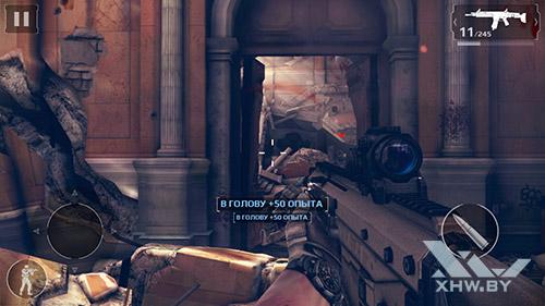 Игра Modern Combat 5 на Huawei Nova