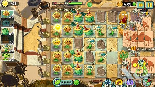 Игра Plants vs Zombies 2 на Huawei Nova