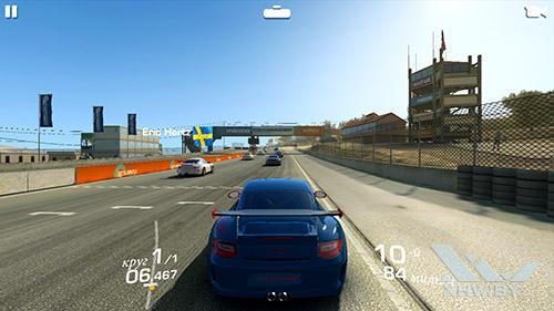 Игра Real Racing 3 на Huawei Nova