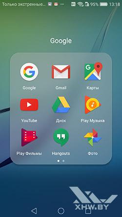Приложения Google на Huawei Nova