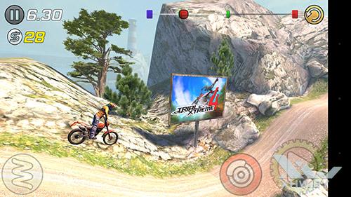 Игра Trial Xtreme 3 на Huawei Nova
