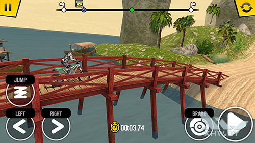 Игра Trial Xtreme 4 на Huawei Nova
