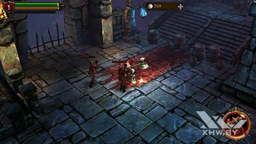 Игра Eternity Warriors 2 на BQ Strike Selfie