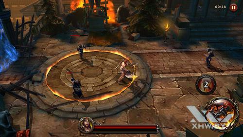 Игра Eternity Warriors 4 на BQ Strike Selfie