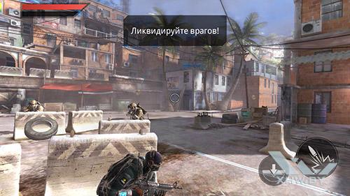 Игра Frontline Commando 2 на BQ Strike Selfie
