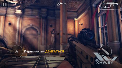 Игра Modern Combat 5 на BQ Strike Selfie