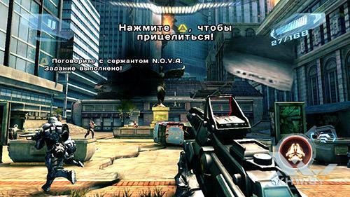 Игра N.O.V.A. 3 на BQ Strike Selfie