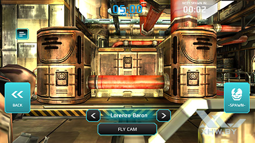 Игра Shadowgun: Dead Zone на BQ Strike Selfie