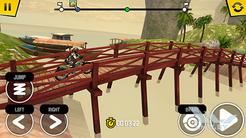 Игра Trial Xtreme 4 на BQ Strike Selfie