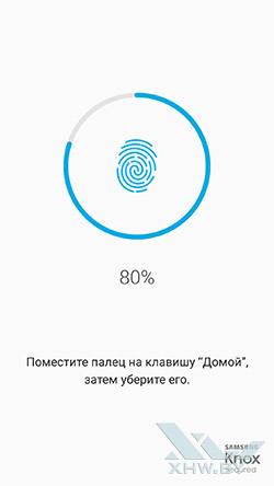 Работа со сканером отпечатков пальцев Galaxy A5 (2017) рис. 2