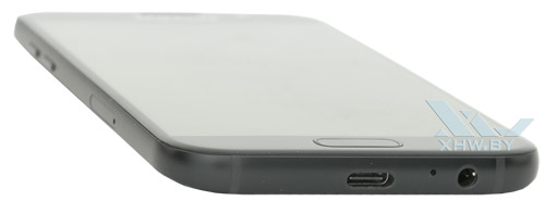 Нижний торец Samsung Galaxy A5 (2017)