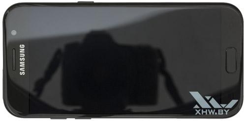 Samsung Galaxy A5 (2017). Вид сверху
