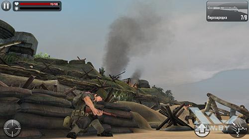 Игра Frontline Commando: Normandy на Samsung Galaxy A5 (2017)