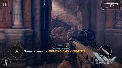 Игра Modern Combat 5 на Samsung Galaxy A5 (2017)
