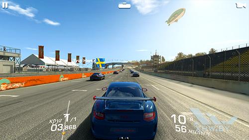 Игра Real Racing 3 на Samsung Galaxy A5 (2017)