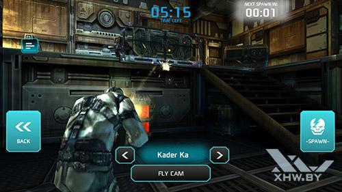 Игра Shadowgun: Dead Zone на Samsung Galaxy A5 (2017)