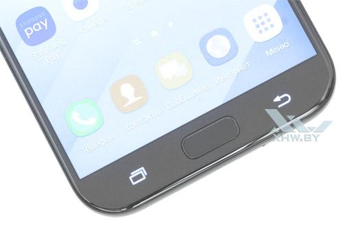Подсветка кнопок Samsung Galaxy A7 (2017)