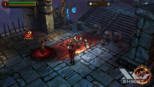 Игра Eternity Warriors 2 на Samsung Galaxy A7 (2017)