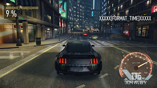 Игра Need For Speed: Most Wanted на Samsung Galaxy A7 (2017)