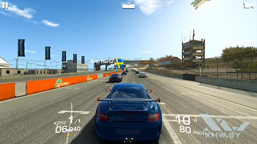 Игра Real Racing 3 на Samsung Galaxy A7 (2017)