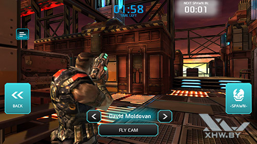 Игра Shadowgun: Dead Zone на Samsung Galaxy A7 (2017)