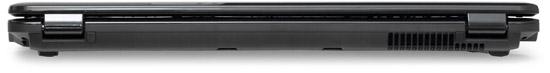 Задняя грань Fujitsu LIFEBOOK NH570