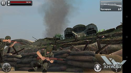 Игра Frontline Commando: Normandy на Huawei Y6 II Compact