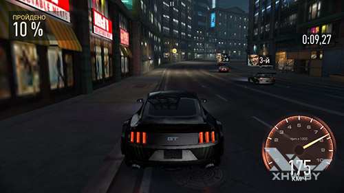 Игра Need For Speed: Most Wanted на Huawei Y6 II Compact