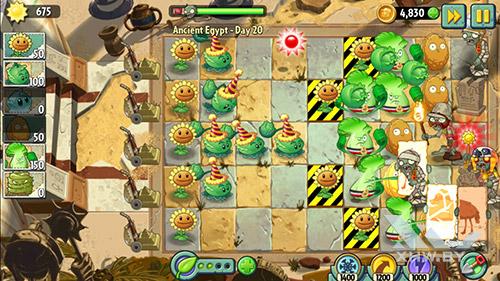Игра Plants vs Zombies 2 на Huawei Y6 II Compact