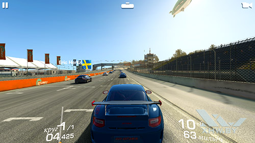 Игра Real Racing 3 на Huawei Y6 II Compact