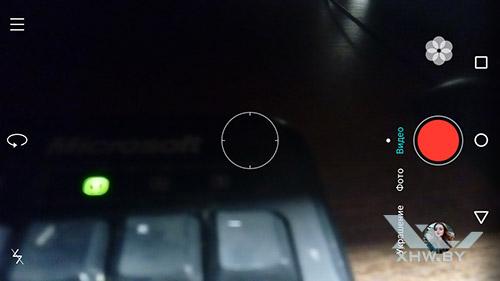 Режим видео камеры Huawei Y6 II Compact