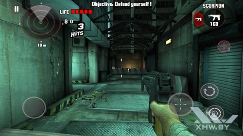 Игра Dead Trigger на Samsung Galaxy J2 Prime