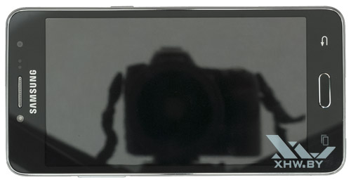 Samsung Galaxy J2 Prime. Вид сверху
