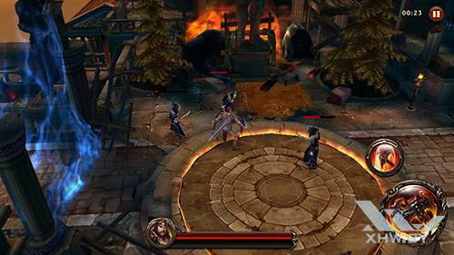 Игра Eternity Warriors 4 на Samsung Galaxy J2 Prime