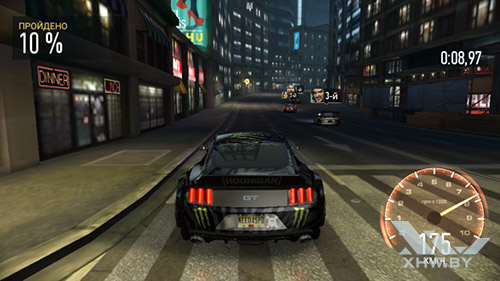 Игра Need For Speed: Most Wanted на Samsung Galaxy J2 Prime