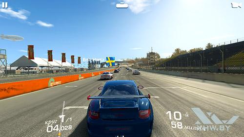 Игра Real Racing 3 на Samsung Galaxy J2 Prime