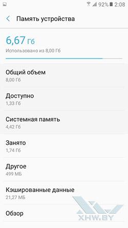 Память Samsung Galaxy J2 Prime