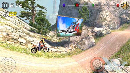 Игра Trial Xtreme 3 на Samsung Galaxy J2 Prime