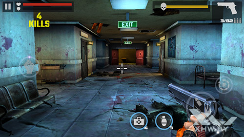 Игра Dead Target на Senseit R450