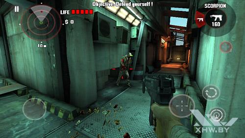 Игра Dead Trigger на Senseit R450