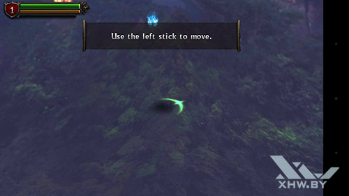Игра Eternity Warriors 2 на Senseit R450