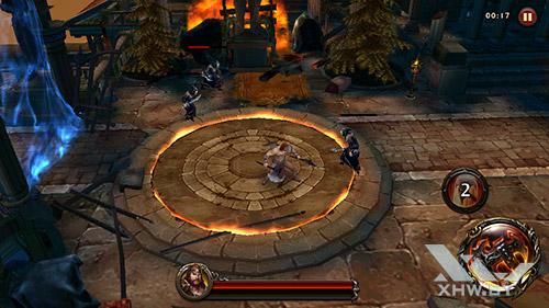 Игра Eternity Warriors 4 на Senseit R450