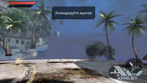 Игра frontline Commando 2 на Senseit R450