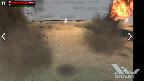 Игра frontline Commando: Normandy на Senseit R450