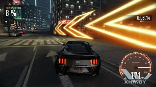 Игра Need For Speed: No Limits на Senseit R450