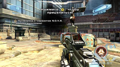 Игра N.O.V.A. 3 на Senseit R450