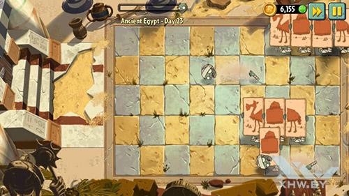 Игра Plants vs Zombies 2 на Senseit R450