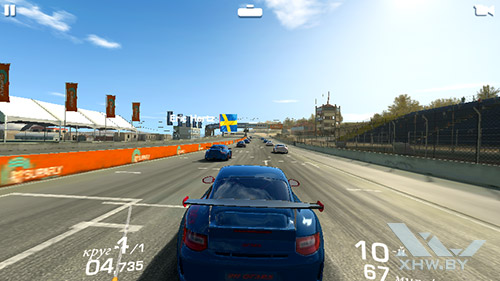 Игра Real Racing 3 на Senseit R450