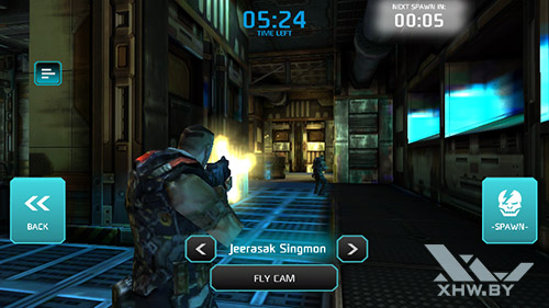 Игра Shadowgun: Dead Zone на Senseit R450